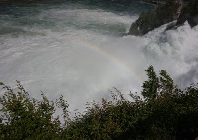 Rhine Fall Rainbow